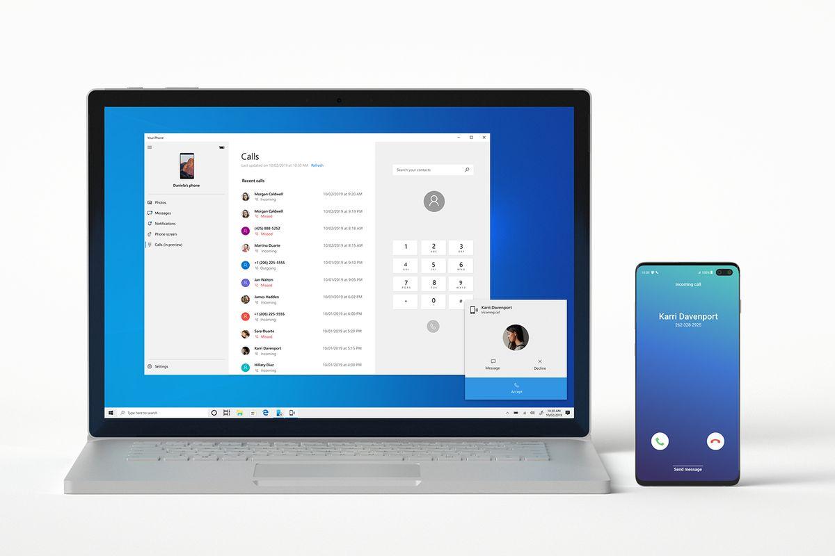 microsoftyourphonecalls.0 - كيف يمكنك استخدام تطبيق YourPhone لإجراء المكالمات من حاسوبك ؟