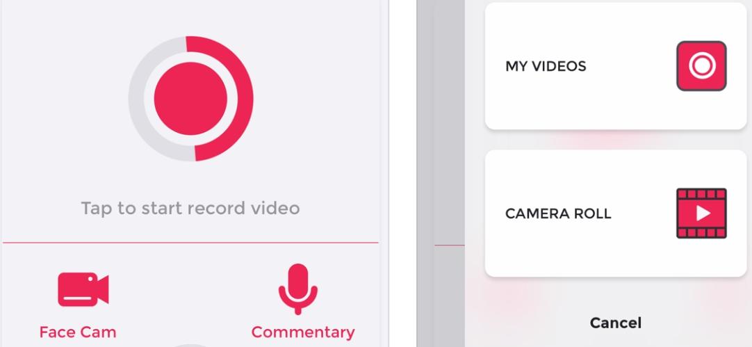 2020 02 18 20 56 12 One Tap Video Editor on the App Store - تطبيق One Tap يتيح إضافة تعليق صوتي أو فيديو على الفيديوهات