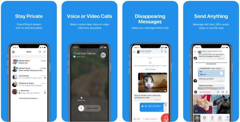 2020 02 27 21 07 57 Window - 4 أسباب دفعت المفوضية الأوروبية لتنصح باستخدام تطبيق Signal بدل الواتساب