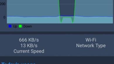 Photo of تطبيق Net Speed Indicator يقيس باستمرار أداء اتصالك بالإنترنت