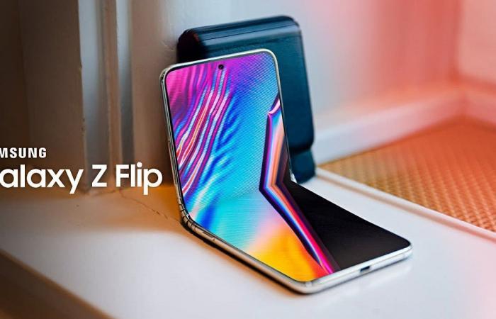 medium 2020 02 08 a3e6bf6387 - جوال Galaxy Z Flip القابل للطي يظهر في فيديو جديد يؤكد مواصفاته