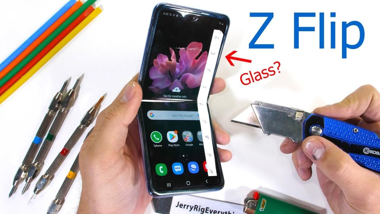 unnamed file - شاشة Galaxy Z Flip تفشل في اختبارات مقاومة الخدش