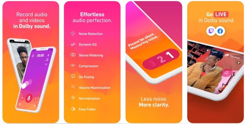 2020 04 08 09 46 28 Window - تطبيق Dolby On لتسجيل الصوت مع خاصية عزل الضوضاء
