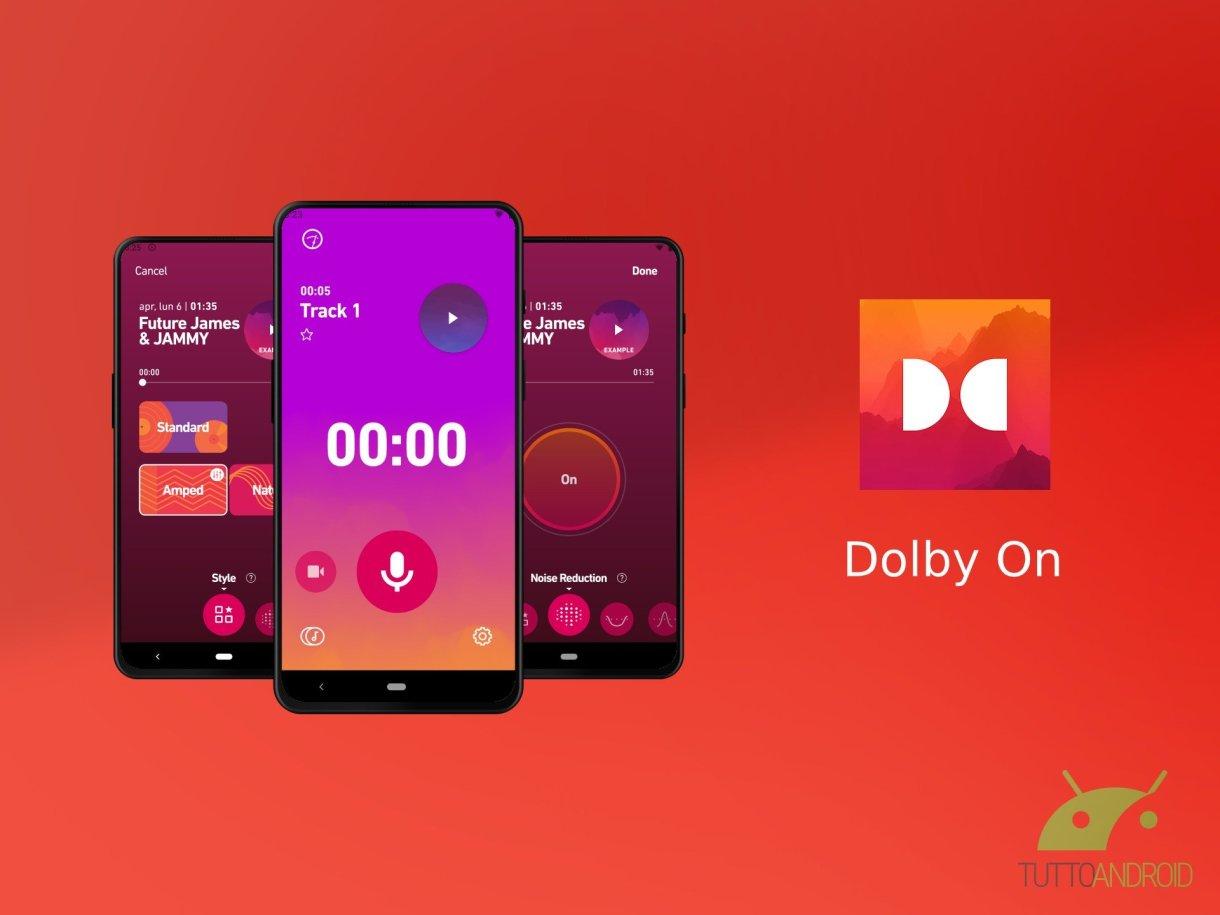 Dolby On 1 - تطبيق Dolby On لتسجيل الصوت مع خاصية عزل الضوضاء