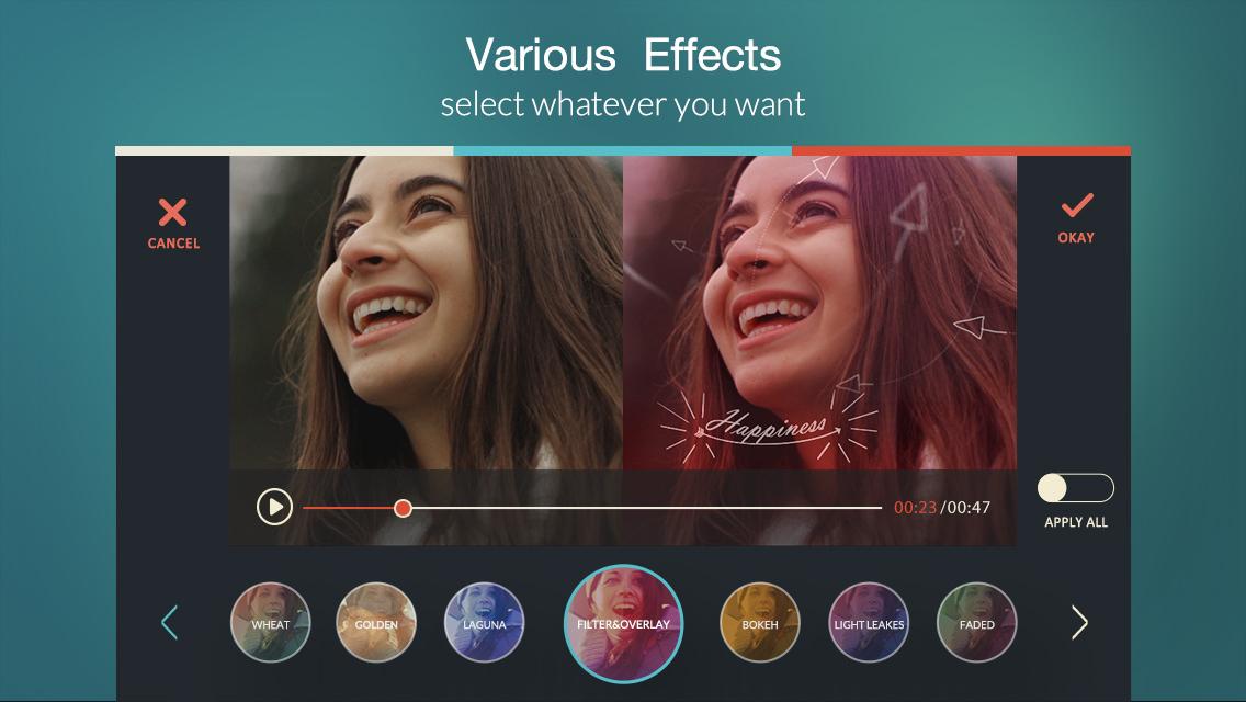 FilmoraGo2 - تطبيق FilmoraGO لتحرير الفيديو والمونتاج على الجوال