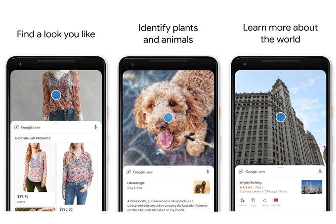 تطبيق عدسة جوجل متاح الأن بشكل منفصل على متجر بلاي - تطبيق عدسة جوجل يدعم النسخ من الواقع إلى الجوال والكمبيوتر