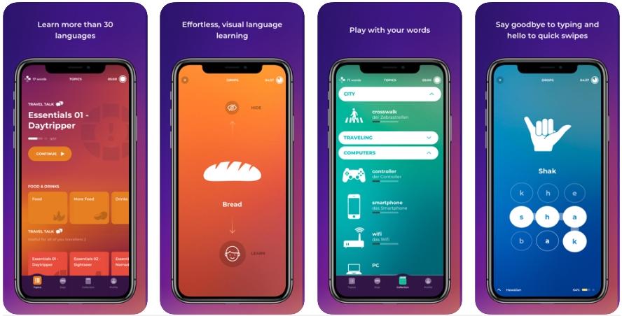 2020 05 15 00 49 51 Window - تطبيق Drops لتعلم اللغات الجديدة بطريقة مسلية