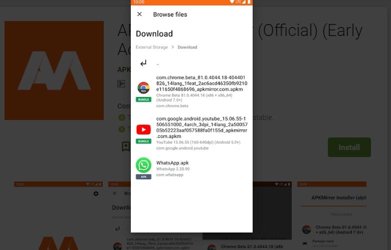 2020 05 16 22 30 30 Window - تطبيق APKMirror Installer - أكبر مكتبة لتحميل التطبيقات من خارج جوجل بلاي