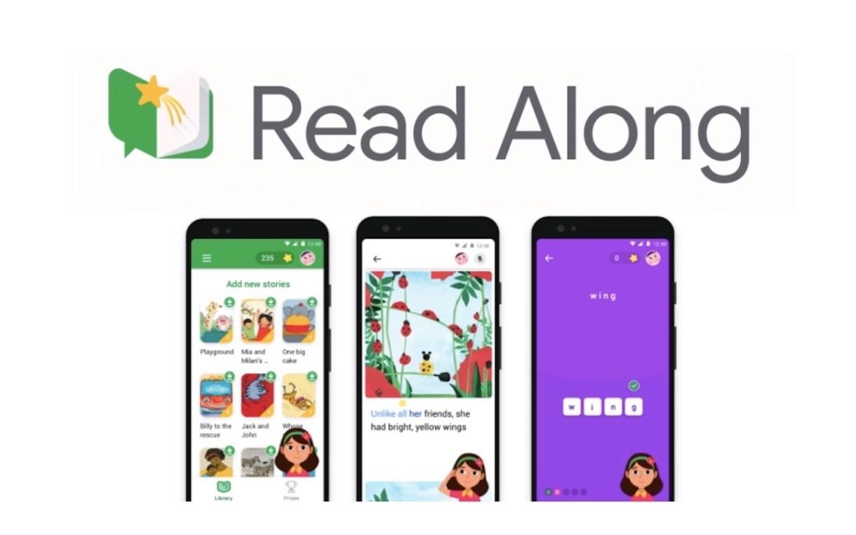 GOOGLE Read Along - تطبيق Read Along من جوجل لتعليم القراءة في 180 دولة