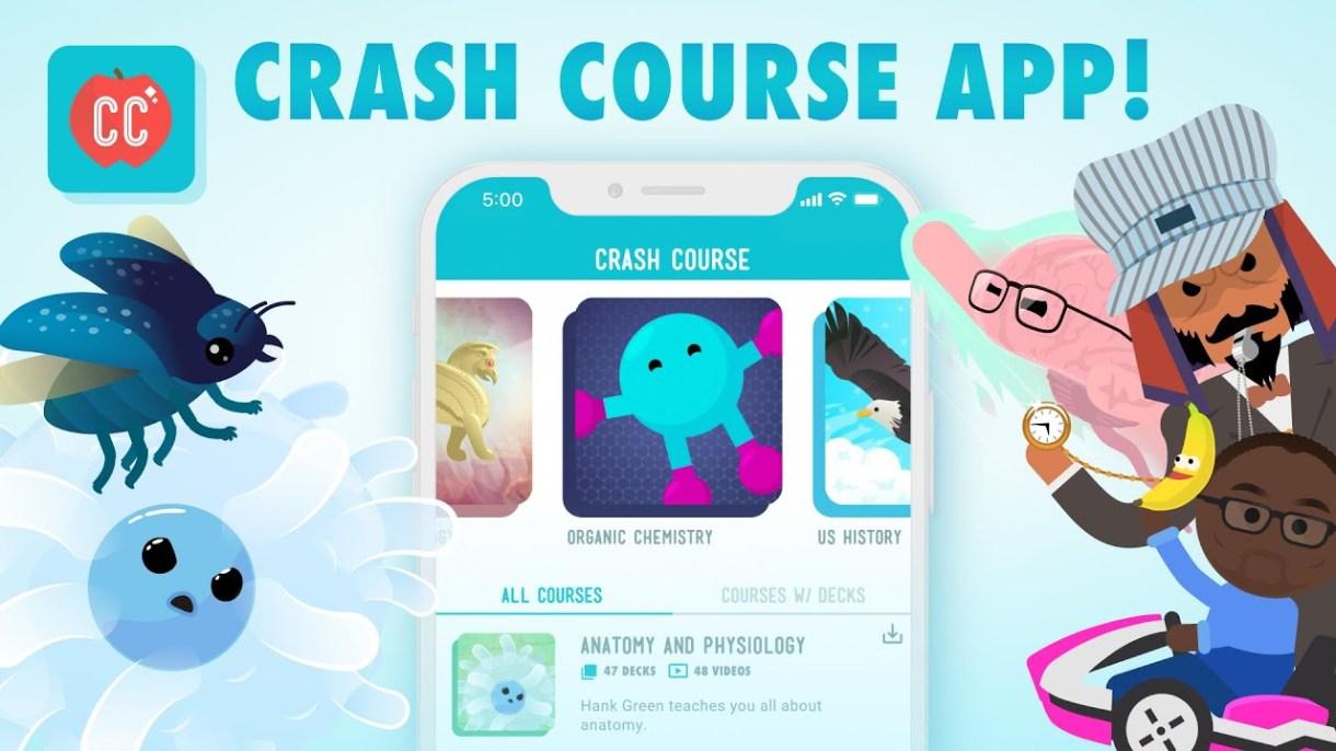 maxresdefault - تطبيق Crash Course يوفر العديد من الكورسات التعليمية الإنجليزية مترجمة