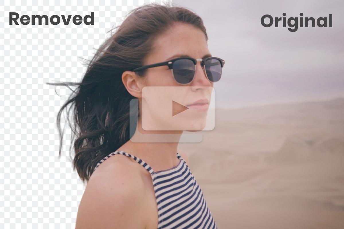 remove video background - موقع Unscreen لإزالة الخلفية من الفيديوهات