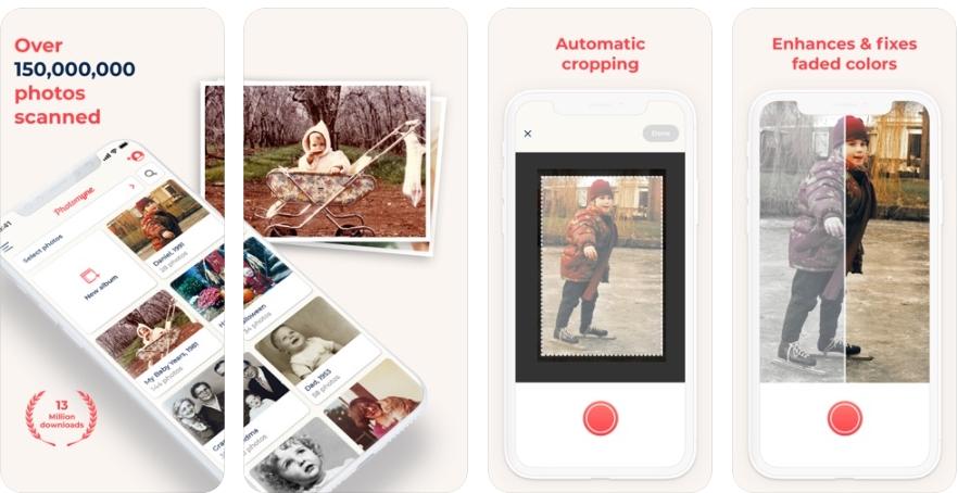 2020 06 04 20 45 51 Photo Scan App by Photomyne on the App Store - تطبيق Photo Scan لحفظ الصور الفوتغرافية من الواقع بالجوال