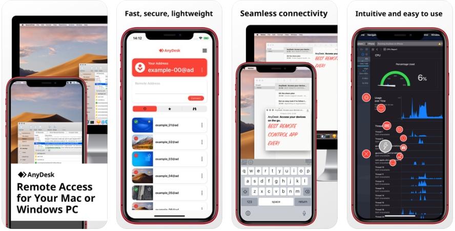 2020 06 04 21 10 46 AnyDesk on the App Store - تطبيق AnyDesk للتحكم في الكمبيوتر عن بعد من الجوال