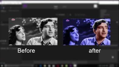 Convert the image from black and white to color - تحويل الصورة من ابيض واسود الى الوان