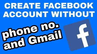 Create an account on Facebook without a phone number - انشاء حساب على الفيس بوك بدون رقم هاتف