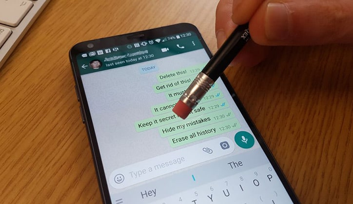 مشكلة حذف رسائل الواتس اب - مشكلة حذف رسائل الواتس اب | حذف رسائل الواتس آب من الطرفين