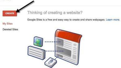 صورة طريقة انشاء موقع مجاني على Google Sites خطوة بخطوة