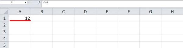Как сделать формулу в Excel