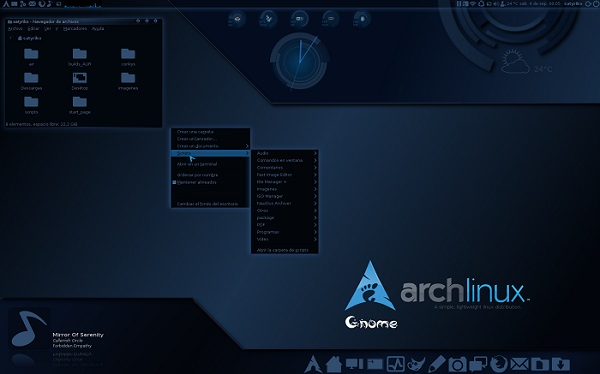 arch linux os