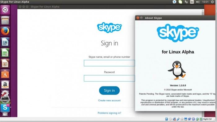 skype for linux 1.3 alpha