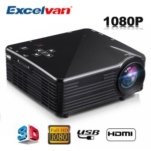 Excelvan LED1018 Mini Portable LCD Projector