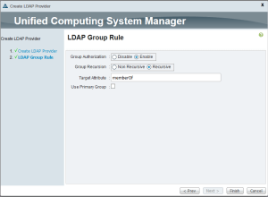 LDAP group rule