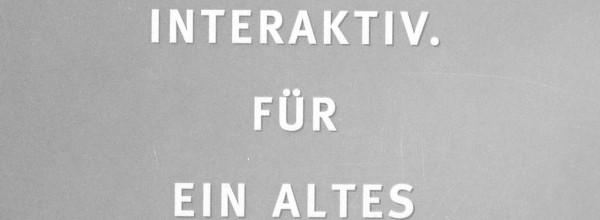 Intermedias – Interaktiver Folder