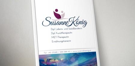 Susanne König – Firmenschild