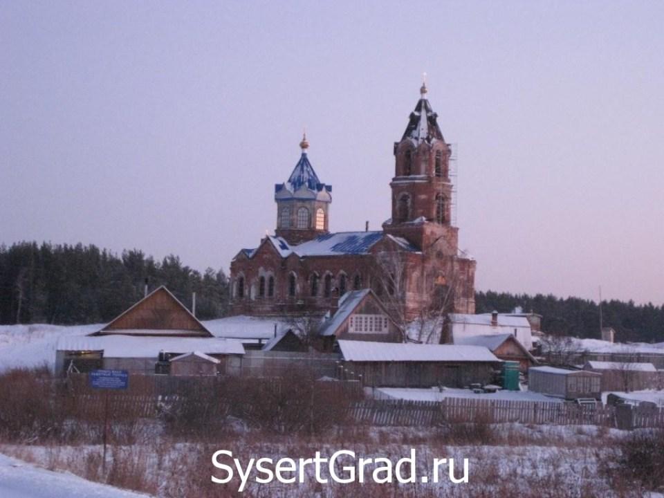 Село Новоипатово, церковь Михаила Архангела
