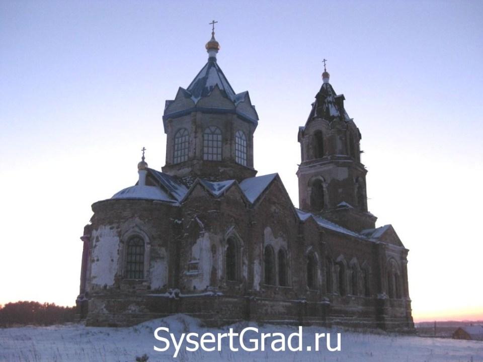 Храм Архангела Михаила в Новоипатово