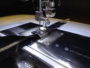 Fot 59- snor på symaskin