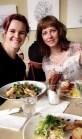 Hyggelig lunch på Cafebiografen i Odense med Andrea og Mona