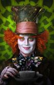 Johnny Depp som The mad Hatter i Alice in Wonderland