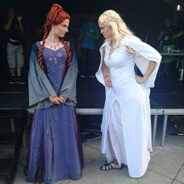 Hmm - tror ikke Sansa og Daenerys er helt gode venner