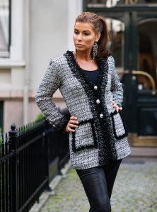 Nydelig Chaneljakke fra Tine Solheim Design - morsom å kunne gi bort en skreddersydd jakke