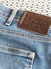 Her er pappas gamle Lee- jeans - merket er jo så fint så det ble jeg nødt til å ha med som en detalje på vesken.