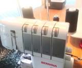 Still maskinen inn til bred 3-trådig flatlock