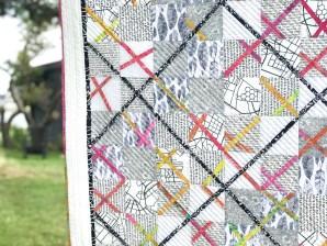 """Mønsteret heter """"Krydserne"""" og er laget av Helene Gravenhorst"""