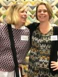 Så heldig å møte Susann fra Hemslöjden og Susanne fra Västmanslands Museum som har noen gamle flotte quilter med på Rikstäcket