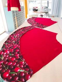 Kirsebærborden endte opp med å bli klippet 20 cm bred