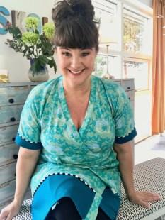 Så deilig å ha på - gleder meg til å bruke kjolen i sommer