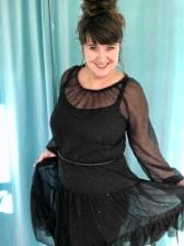 Føler meg festfin i denne kjolen