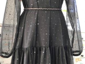 Den lille sorte chiffonkjole