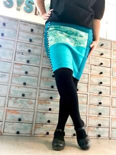 Jersey pencilskirt