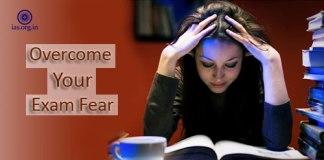 overcome exam fear
