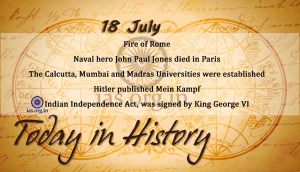 today in history 18 july