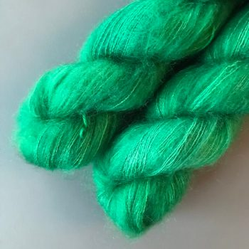 Sysleriget Silk Mohair Novice Green