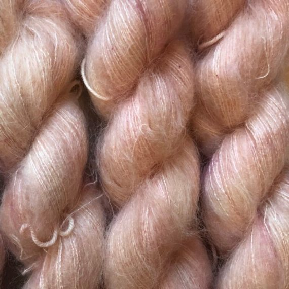 Sysleriget Silk Mohair Coral