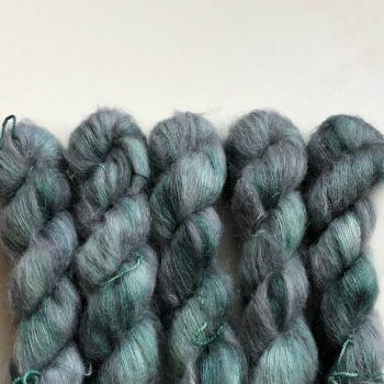 Sysleriget Silk Mohair Dust Green