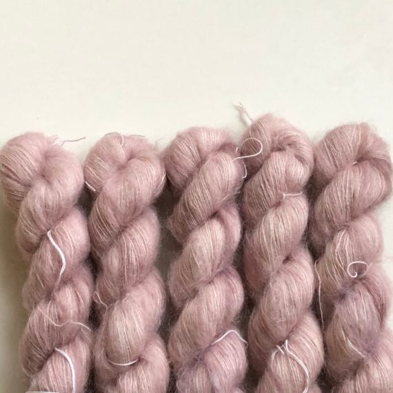 Sysleriget Silk Mohair Dusty Rose
